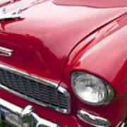 1955 Chevrolet Bel Air Hood Ornament Poster