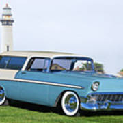 1956 Chevrolet Bel Air Nomad Wagon Poster