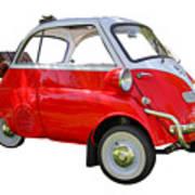 1957 Isetta 300 Poster