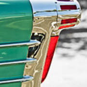 1958 Oldsmobile 98 Taillight Poster