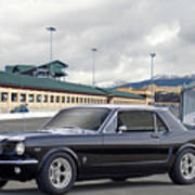 1966 Ford Mustang Coupe II Poster