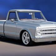 1969 Chevrolet C10 Pickup 'studio' 1 Poster