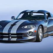 2000 Dodge Viper Vs1 Coupe Poster