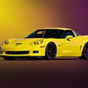 2008 Corvette Z06 Coupe Poster