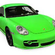 2008 Porsche Cayman S Sport Poster