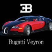 2010 Bugatti Veyron Poster