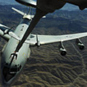 A U.s. Air Force E-3 Sentry Aircraft Poster by Stocktrek Images