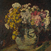 A Vase Of Wild Flowers Poster