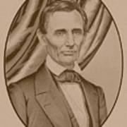 Abraham Lincoln Circa 1860  Poster