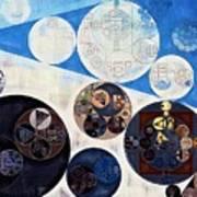 Abstract Painting - San Marino Poster