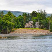 Coastal Acadia Poster