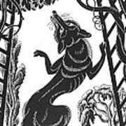 Aesop: Fox & Grapes Poster