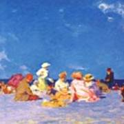 afternoon fun Edward Henry Potthast Poster