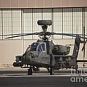 Ah-64d Apache Longbow At Pinal Airpark Poster