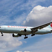 Air Canada Boeing 767 Poster
