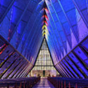 Air Force Academy Cadet Chapel Poster