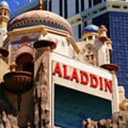 Aladdin Hotel Casino Poster