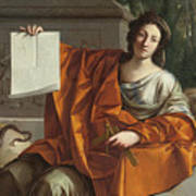 Allegory Of Geometry Poster