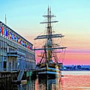 Amerigo Vespucci Tall Ship Poster