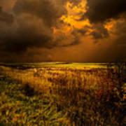 An Autumn Storm Poster by Phil Koch