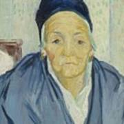 An Old Woman Of Arles Arles, February 1888 Vincent Van Gogh 1853 - 1890 Poster