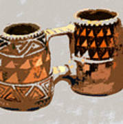 Anasazi Double Mug Poster