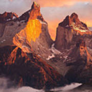 Andes Mountains Poster
