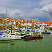 Anstruther Harbor Poster