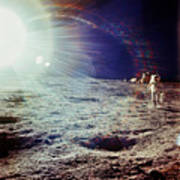 Apollo 12 Astronaut Poster