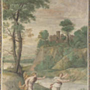 Apollo Pursuing Daphne Poster