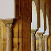 Arches Of The Patio De Los Naranjos In The Cathedral Of Cordoba Poster
