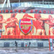 Arsenal Football Club Emirates Stadium London Poster