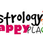 Astrology Is My Happy Place Poster