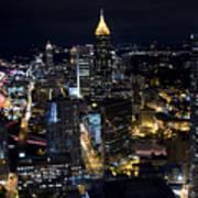 Atlanta Georgia - Evening Commute Poster