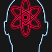 Atom Diagram Poster