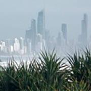 Australia - Surf Mist Shrouds Our View Poster
