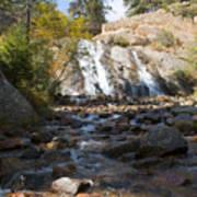 Autumn At Helen Hunt Falls Colorado Poster
