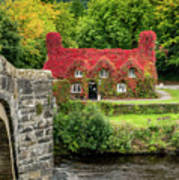 Autumn Cottage Poster