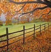 Autumn Vista Virginia Poster