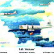 B-29 Bockscar Poster