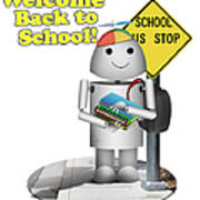 Back To School Little Robox9 Poster