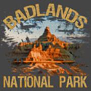 Badlands National Park Poster