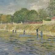 Bank Of The Seine Paris, May - July 1887 Vincent Van Gogh 1853 - 1890 Poster