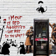 Banksy - The Tribute - Rats Poster
