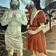 Baptism Poster by Munir Alawi