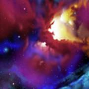 Bat Nebula Poster