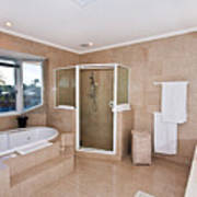 Bathroom And Spa Bath Poster