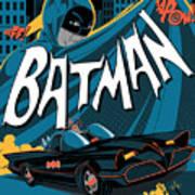 Batman Art Poster