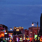Beale Street, Memphis Poster