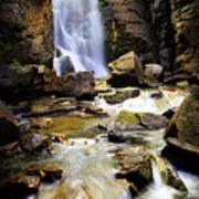 Beartooth Falls Poster